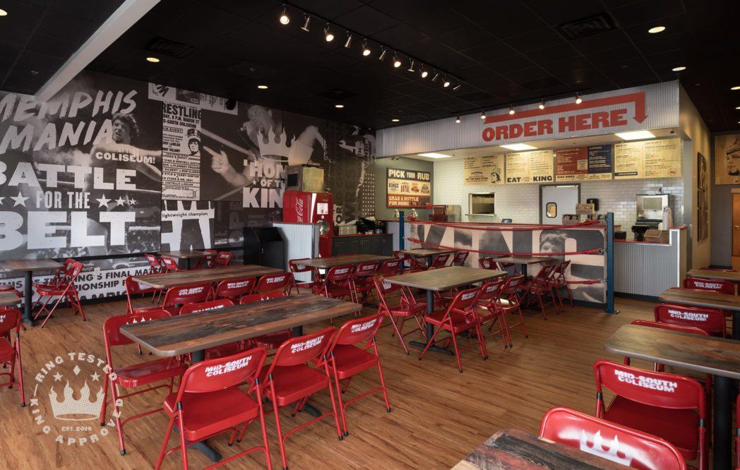 Bbq restaurant interior design home